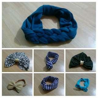 Headband/turban 1 set