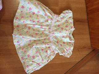 Gap floral infAnt dress
