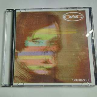 OAG Snowball CD Single album.
