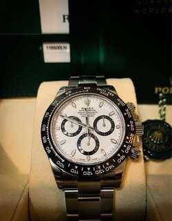 Rolex Daytona white ceramic 116500 LN