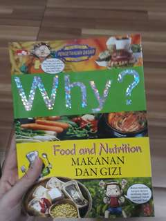 Why? Food and Nutrition SAINS BOOK