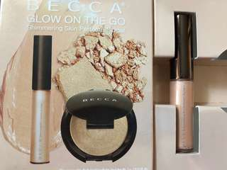 Becca glow on the go shimmering skin perfector spotlight opal