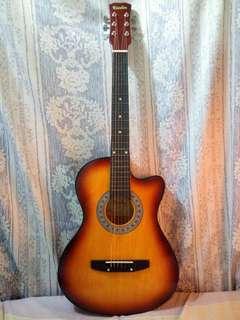 Kessler High Quality Acoustic Guitar (Sunburst)