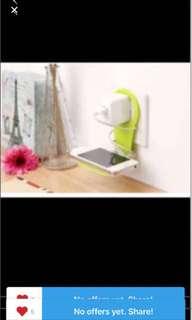 1087) 全新 創意折疊充電支架手機架子 Phone Holder 通用懶人神器便攜手機架手機座 包郵