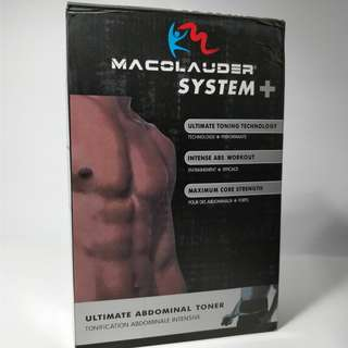 Macolauder System Plus Abs & Body Workout Toner