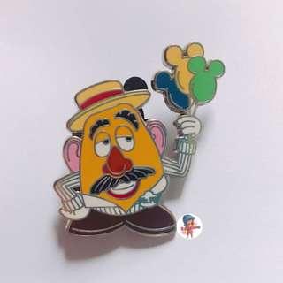 [可交換] 迪士尼 toystory 薯蛋頭 pins
