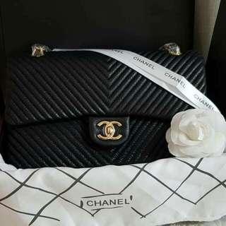 Chanel Chevron Flap