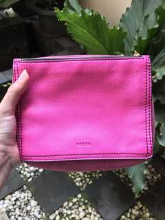Fossil Campbell Crossbody Hot Pink