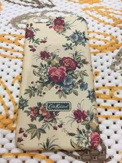 Casing Iphone 6 Plus - Hardcase Cath Kidston flower pattern