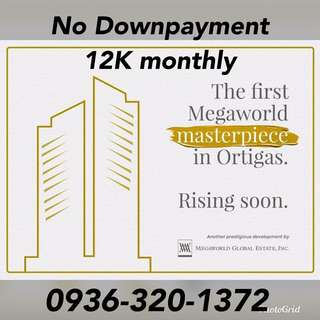 RUSH! No DP 12K monthly only PRE SELLING Condo in Ortigas near Makati Ayala Pasay taguig Antipolo BGC pasig