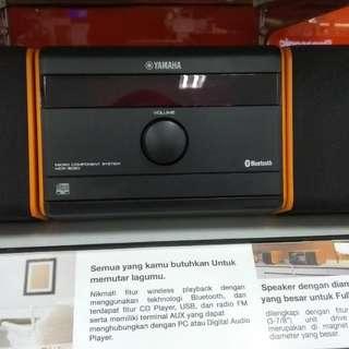 Yamaha System MCR-B020/OG DP 0% Cukup Admin 199.000 Tanpa CC