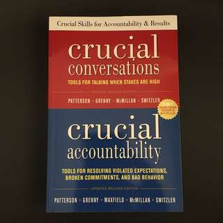 Crucial conversations crucial accountability