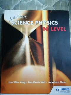 All About Science Physics 'N' Level