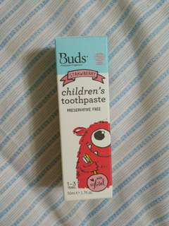 Buds Children Toothpaste