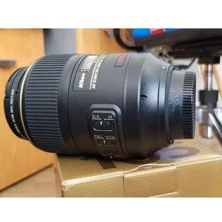 Lensa Nikon AF-S VR 105mm Nikkor Lens