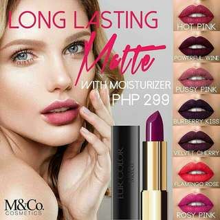 M&Co Cosmetics EUR Collection