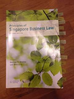 Principles of Singapore Business Law
