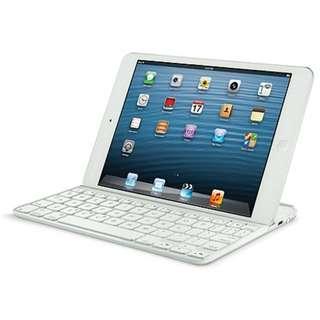 Logitech Ultrathin Keyboard Cover for iPad mini (White) HB731PA/A