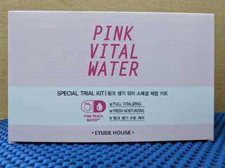 Pink Vital Water Special Trial Kit Etude NEW