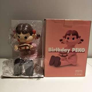 🚚 絕版 不二家 牛奶妹 Peko 生日蛋糕 娃娃