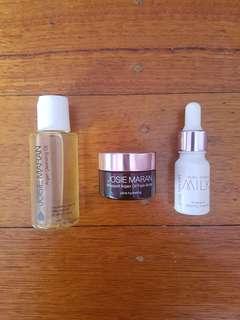 Trio of Josie Maran Skincare