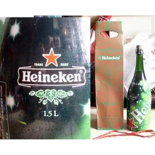 Heineken喜力啤酒聖誕紀念版一枝