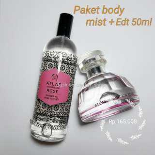 Body Shop Paket Atlas (mist + edt 50ml)