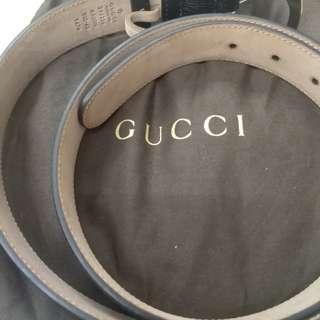 Gucci 皮帶 (無盒)