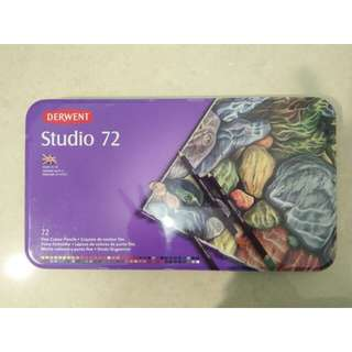 Derwent Studio Pencils Tin 72