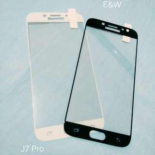 Tempered Glass Warna Samsung J7 Pro