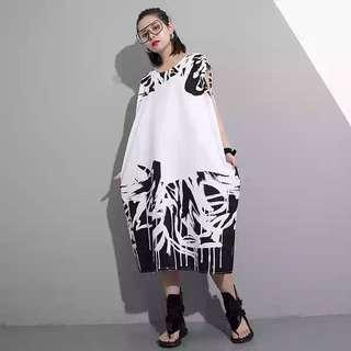 NEW Sleeveless Wild Print Dress