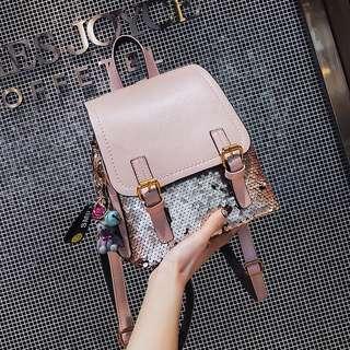 Korean Glitter Backpack