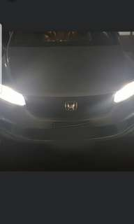 HONDA STREAM ON OUR G20 LED HEADLIGHT