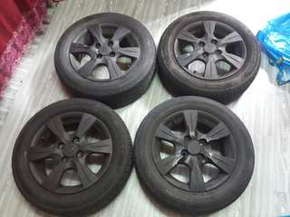 Rim Original Saga Flx Executive 14 inci PCD 100