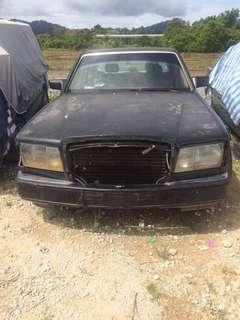 MERCEDES BENZ 380SEL 1jz for sparepart