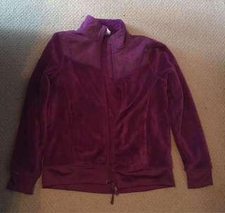 Soft burgundy jacket