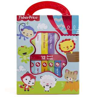 Fisher-Price My First Library 12-Board Book Box Set