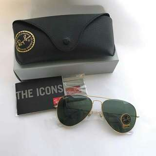Ray-Ban Aviator Classic Gold, RB3025