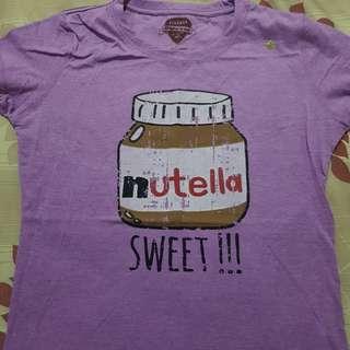 Female/Medium - Vintage T-shirts Nutella