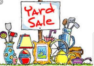 Garage Sales Saturday 12th May at Woodlands