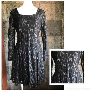 Item code# 4 - Black lace dress
