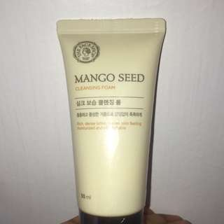 THE FACE SHOP MANGO SEED FACIAL FOAM