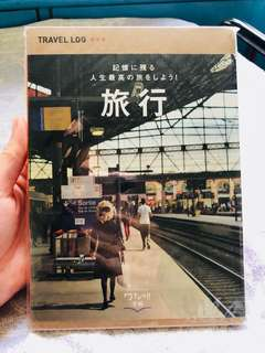 New!全新 日版travel log book 旅行手帳