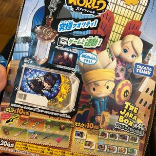Snack world 第4彈武器怪獸抽選寶盒 代購