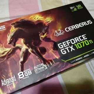 ASUS CERBERUS GTX1070TI 8GB GDDR5