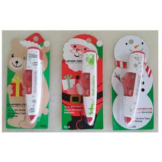 PLUS Whiper MR Correction Tapes (Christmas Editions)