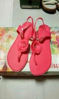 Melissa Neon Pink Sandal