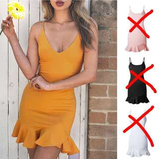 Women ladies spaghetti straps slip dress