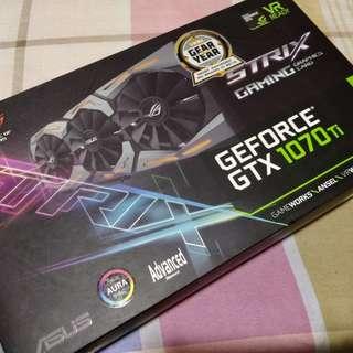 ASUS STRIX 1070TI 8GB GDDR5