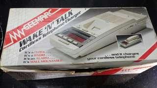 80's ~90's geemarc walk 'n' talk telephone ( original box only )